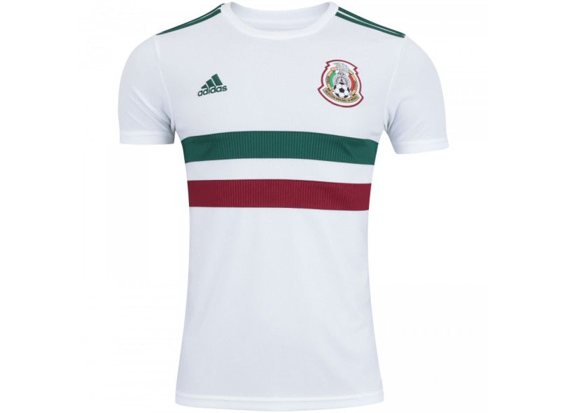 302572a49fa24 Camisa México II 2018 19 Torcedor Masculino Adidas