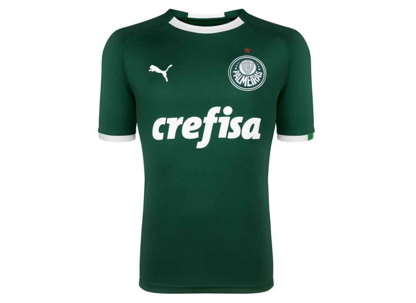 Pensar ayuda Broma  Camisa Palmeiras I 2019/20 Torcedor Masculino Puma Com o Melhor Preço é no  Zoom