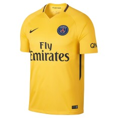 a577174b0f Camisa Torcedor PSG II 2017 18 Sem Número Nike