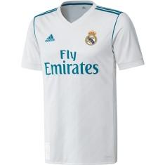 Camisa Torcedor Real Madrid I 2017 18 Adidas 384fd91b1eefe