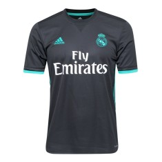 Camisa Torcedor Real Madrid II 2017 18 Sem Número Adidas 291abac147415