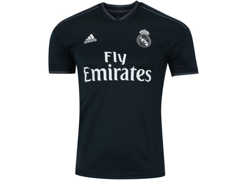 eb28b0a56d2c4 Camisa Real Madrid II 2018 19 Torcedor Masculino Adidas