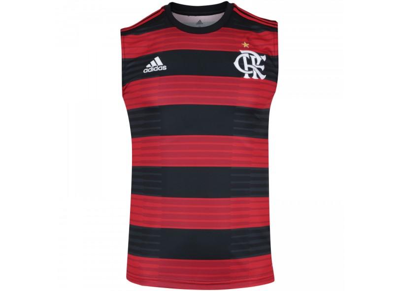 977f6c421f Camisa Regata Flamengo I 2018 19 sem Número Torcedor Masculino Adidas