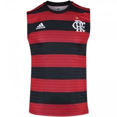 Camisa Torcedor Regata Flamengo I 2018 19 sem Número Adidas b69e1a2d74555