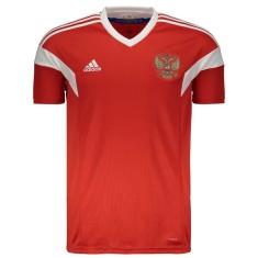 Camisa Torcedor Rússia I 2018/19 Adidas