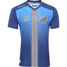 Camisa Torcedor Santos III 2016 sem Número Kappa 06bb2473b98ec