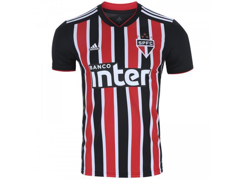 758101058 Camisa São Paulo II 2018 19 Torcedor Masculino Adidas