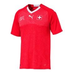 Camisa Torcedor Suíça I 2018/19 Puma