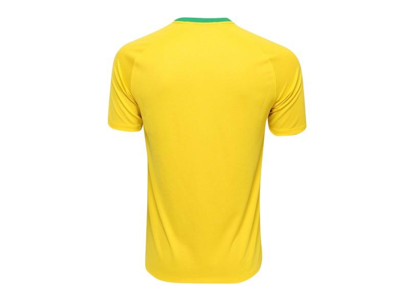Camisa Supporter Brasil I 2018 19 sem Número Torcedor Masculino Nike d8d40f26f05b1