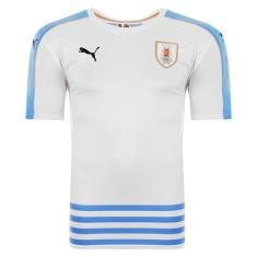 Camisa Torcedor Uruguai II 2016 sem Número Puma 47b5ea4c25f92