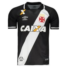 Camisa Torcedor Vasco da Gama I 2017 18 Umbro 32dd4766a4170