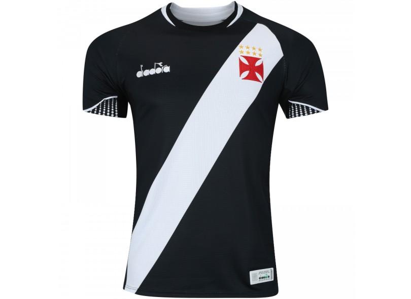 Camisa Vasco da Gama I 2018 19 Torcedor Masculino Diadora 4f88126b3452b