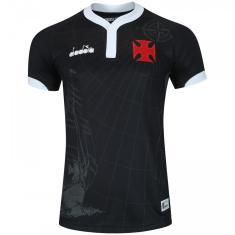 673412e0a3 Camisa Torcedor Vasco da Gama III 2018 19 Diadora