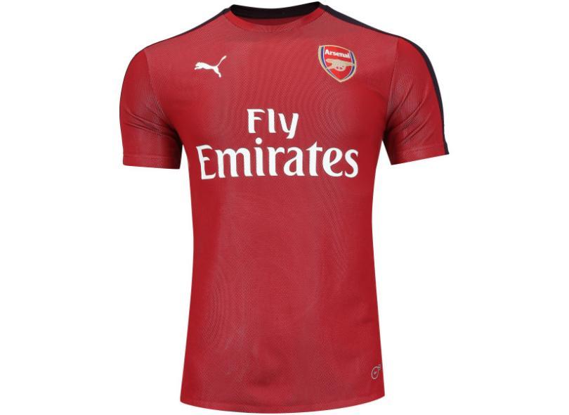 Camisa Arsenal 2018 19 Treino Masculino Puma 75df9d67ef114