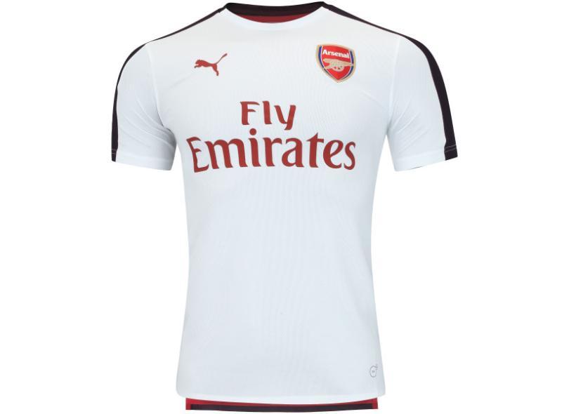 ea7b1cea0f Camisa Arsenal 2018 19 Treino Masculino Puma