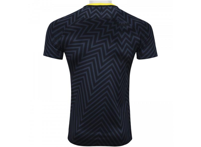 d4079396ec7de Camisa Brasil 2018 19 sem Número Treino Masculino Nike