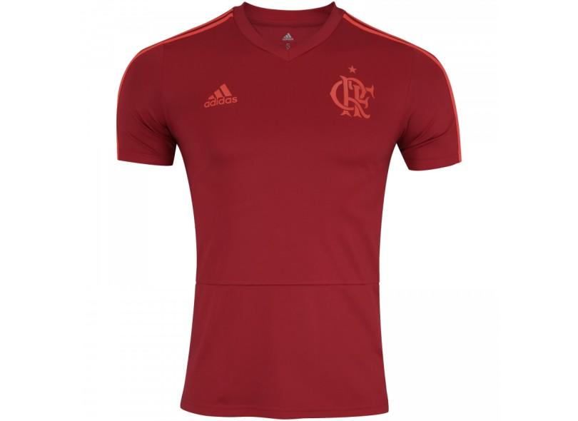 Camisa Flamengo 2018 19 Treino Masculino Adidas ecaed142e141e
