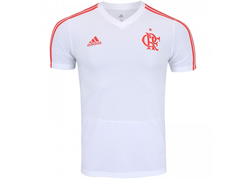 Camisa Flamengo 2018 19 Treino Masculino Adidas 4cd909e0ef02b