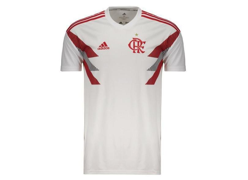 30f26bb138795 Camisa Flamengo 2018 19 Treino Masculino Adidas