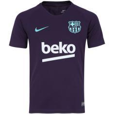 4318504bb Camisa Treino infantil Barcelona 2018 19 Nike