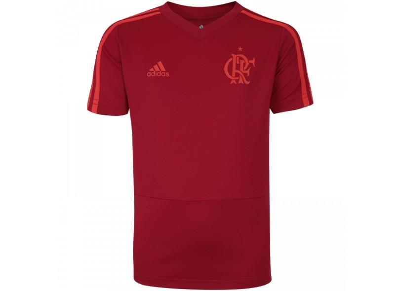 9f69ea6ecab51 Camisa infantil Flamengo 2018 19 Treino Infantil Adidas