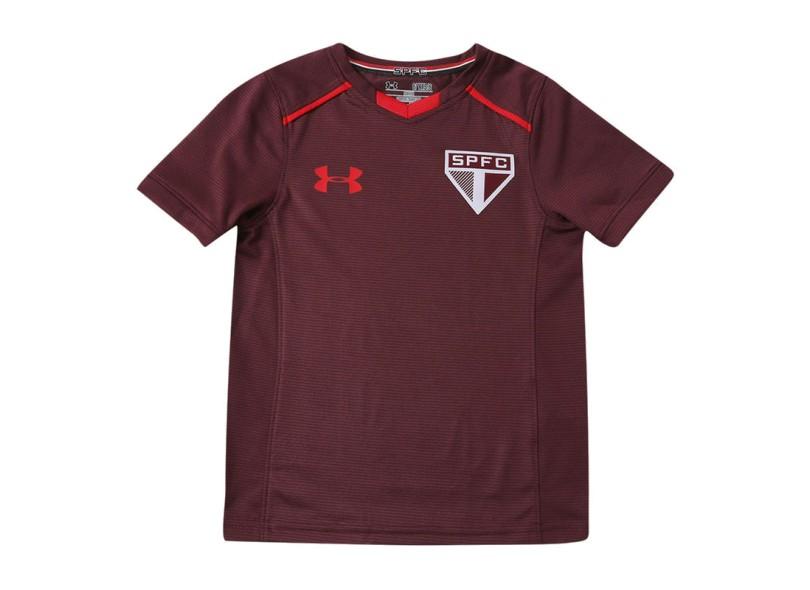 4a68732621b Camisa Infantil São Paulo 2017 18 Treino Infantil Under Armour