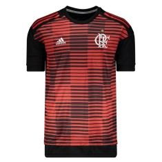 Camisa Treino Longline Flamengo 2018 19 Adidas 2b5b97cf9b3