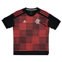 Camisa Treino Longline Infantil 2018 19 Adidas 87f86314e55