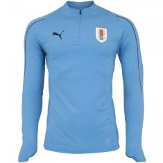 6da9923576 Camisa Treino Manga Longa Uruguai 2018 19 Puma