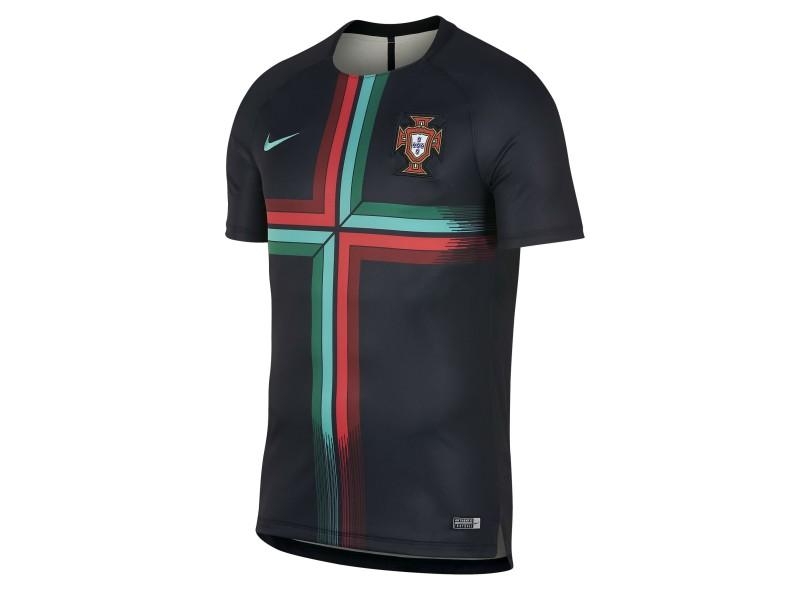 Camisa Portugal 2018 19 Treino Masculino Nike 7fb3fc753e280