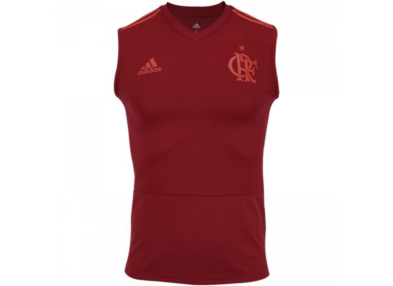 Camisa Regata Flamengo 2018 19 Treino Masculino Adidas c05aa7074c1bc