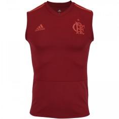 4d4259fb28 Camisa Treino Regata Flamengo 2018 19 Adidas