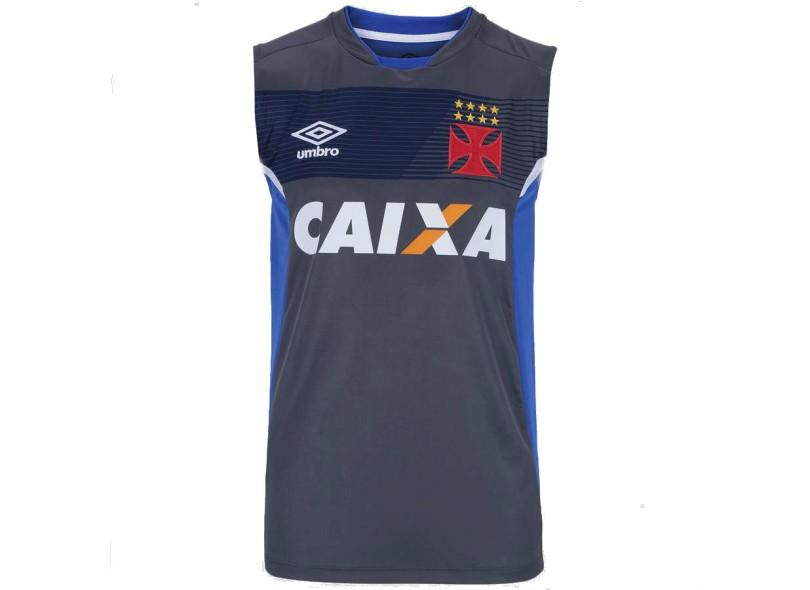Camisa Regata Vasco da Gama 2017 Treino Masculino Umbro dba5805a8dbf2