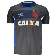 Camisas de Times de Futebol Vasco da Gama Treino Masculino  86f504de412e8