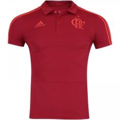 bcda212a18 Camisa Viagem Polo Flamengo 2018 Adidas