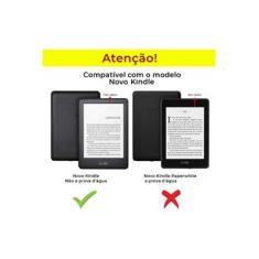 Capa Novo Kindle 10 Geração Com Alça - Azul