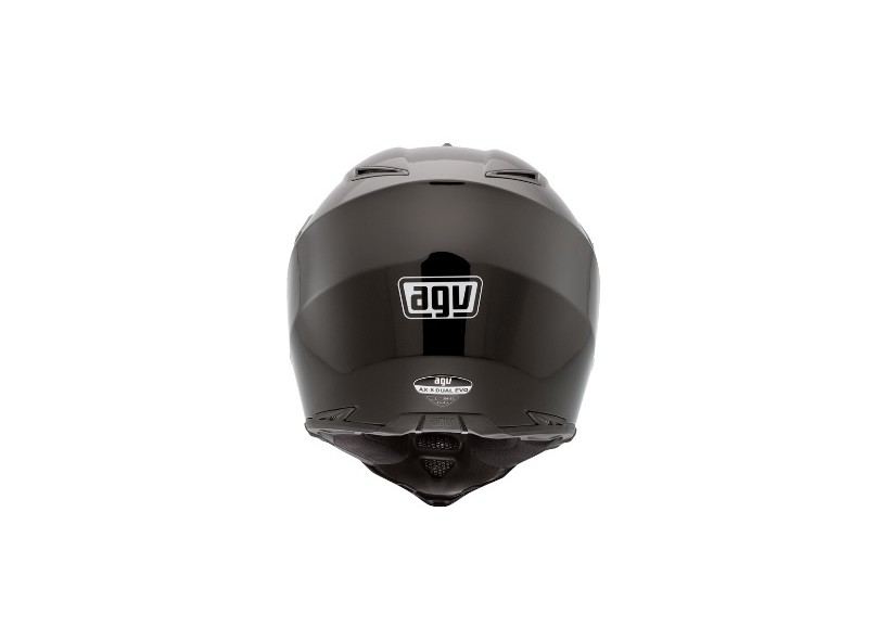 Capacete AGV AX-8 Dual Evo Gloss Black Off-Road com viseira fec698623a3