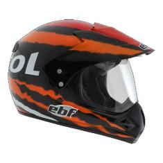 Capacete Helmet EBF Motard Off-Road Fecho de engate rápido