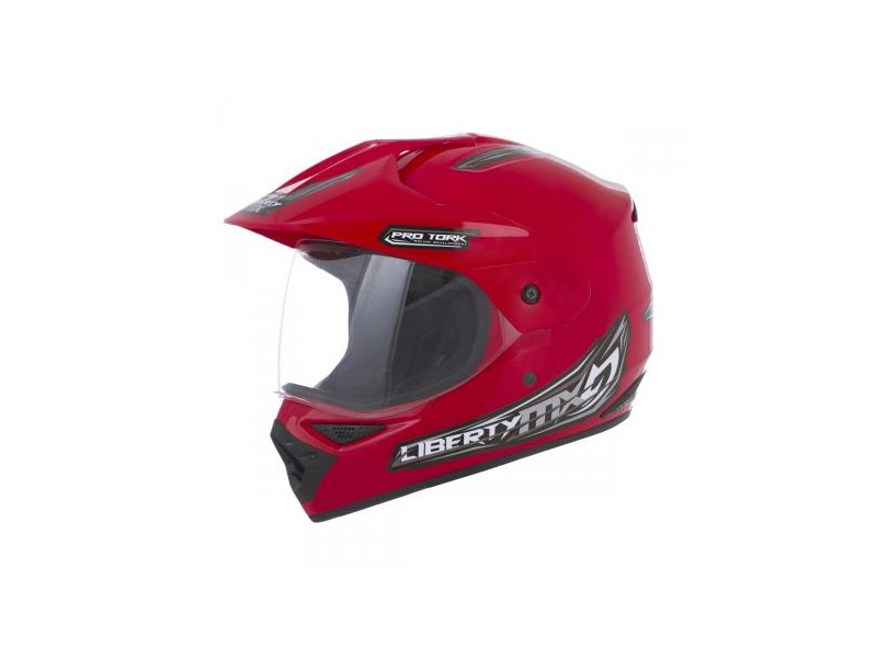 dfffb53e7e2d9 Capacete Protork MX Pro Vision CAP-150 Off-Road com viseira