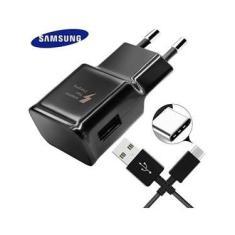 Carregador Samsung S9 S9 Plus Com Entrada Type C - Preto - Preto