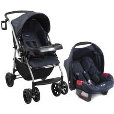 Carrinho de Bebê Travel System com Bebê Conforto Burigotto AT6 K