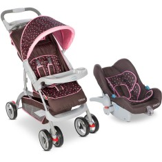 Carrinho de Bebê Travel System com Bebê Conforto Cosco Moove