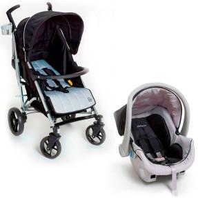 Carrinho de Bebê Travel System com Bebê Conforto Dzieco Tatus