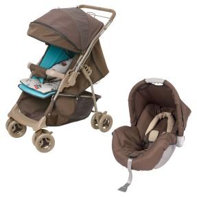 Carrinho de Bebê Travel System com Bebê Conforto Galzerano 1380 Maranello
