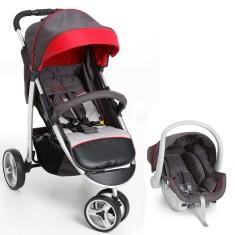 Carrinho de Bebê Travel System com Bebê Conforto Galzerano Apollo 1395