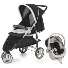 Carrinho de Bebê Travel System com Bebê Conforto Galzerano Cross 1430