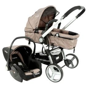 Carrinho de Bebê Travel System com Bebê Conforto Kiddo Compass