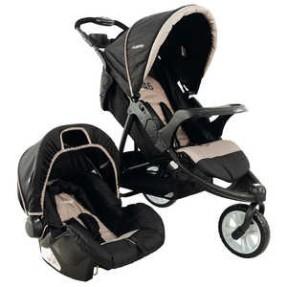 Carrinho de Bebê Travel System com Bebê Conforto Kiddo Fox P52