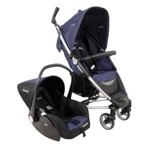 Carrinho de Bebê Travel System com Bebê Conforto Kiddo Helios 886