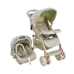 Carrinho de Bebê Travel System com Bebê Conforto Kiddo Lisboa 5210